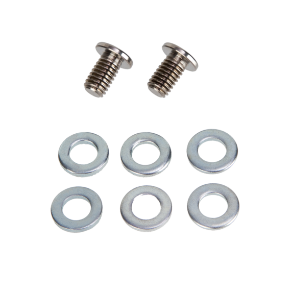 Titanium mounting bolts
