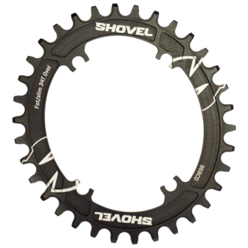 Oval Shovel chainring