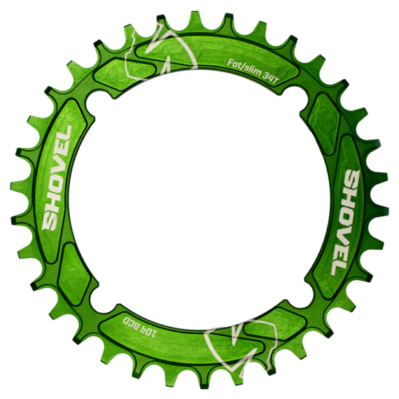 Shovel chainring