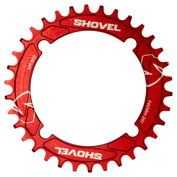 Shovel 34T 104BCD chainring