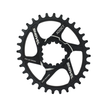 Oval chainring for Sram